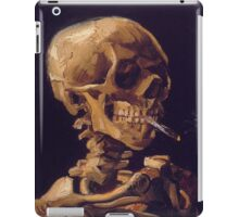 Vincent Van Gogh's 'Skull with a Burning Cigarette'  iPad Case/Skin