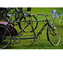 BIcycle made for two.... Devon UK Photographic Print
