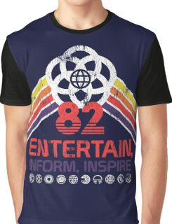 EPCOT Shirt - Distressed Logo - Entertain Inform Inspire Graphic T-Shirt