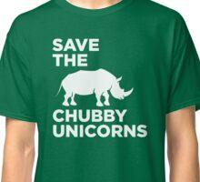 Save chubby unicorn Classic T-Shirt