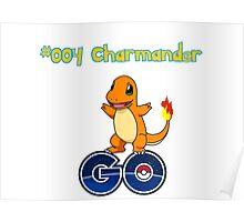 004 Charmander GO! Poster