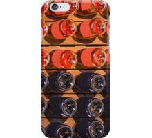 Wine bottles - Rose & Red Wine iPhone Case/Skin