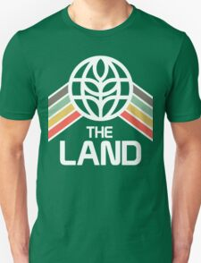 The Land Logo in Vintage Retro Style Unisex T-Shirt