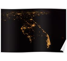 South Florida From Space Poster