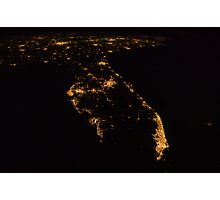 South Florida From Space Photographic Print