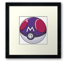 Pokemon Masterball Framed Print