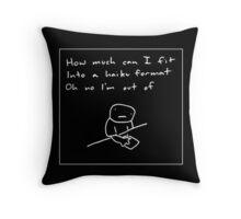 Haiku Format Throw Pillow