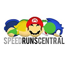 SpeedRunsCentral Official! Photographic Print