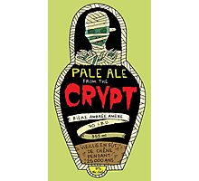 Pale ale from the crypt Photographic Print