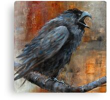 The Prosecutor (from A Murder of Crows Series) Canvas Print