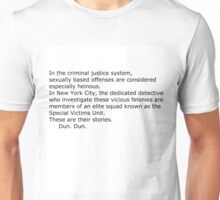 Law and Order Intro Unisex T-Shirt