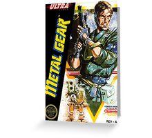 Metal Gear Original Greeting Card