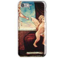 Hot Blue Dog iPhone Case/Skin