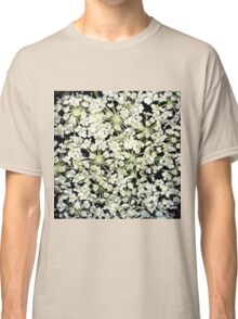 White Wildflowers Classic T-Shirt
