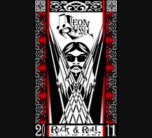 Leon Russell, Rock & Roll Hall of Fame, Commemorative Art by artist L. R. Emerson II Unisex T-Shirt