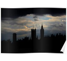 Stormy London Poster