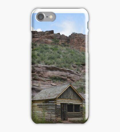 Cabin on bobcat ridge iPhone Case/Skin