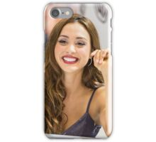 Lindsey Morgan - Comic Con - The 100 Poster iPhone Case/Skin
