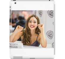Lindsey Morgan - Comic Con - The 100 Poster iPad Case/Skin