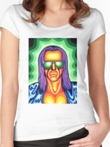 Cosmic Basil Women's Fitted Scoop T-Shirt