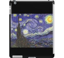 'Starry Night' by Vincent Van Gogh (Reproduction) iPad Case/Skin