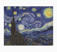 'Starry Night' by Vincent Van Gogh (Reproduction) Kids Clothes
