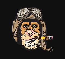 Cigar Flying Monkey Head Unisex T-Shirt