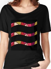 Colorful lines Women's Relaxed Fit T-Shirt