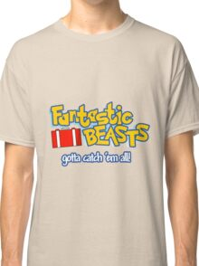 Fantastic Beasts - gotta catch 'em all Classic T-Shirt