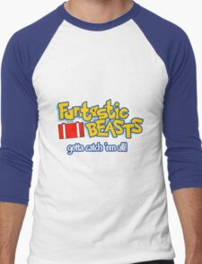 Fantastic Beasts - gotta catch 'em all Men's Baseball ¾ T-Shirt