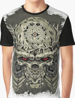 Raven & Skeletal Lord Graphic T-Shirt