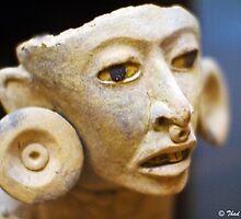 Mayan figure by Thad Zajdowicz