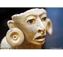 Mayan figure Photographic Print