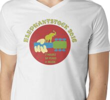 Elephant Stock 2016 Mens V-Neck T-Shirt