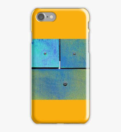 10 11 12 Colorful Rust Cyan Lime iPhone Case/Skin