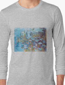 Claude Monet,Nympheas,beautiful,vintage,painting Long Sleeve T-Shirt