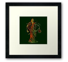 Smoke wizard Framed Print