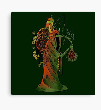 Smoke wizard Canvas Print