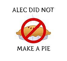 The Mortal Instruments Alec Pie Print by ThoseFandomss