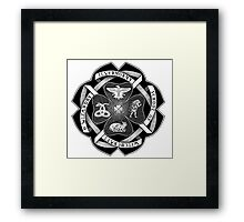 ilvermorny school of witchcraft and wizardry Framed Print