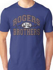 usa new york swirl by rogers bros Unisex T-Shirt