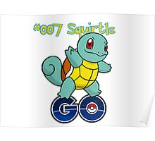 007 Squirtle GO! Poster