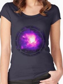 Open Universe Women's Fitted Scoop T-Shirt