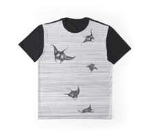 Manta rays in flight Graphic T-Shirt
