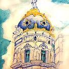 Metropolis building . Madrid. by terezadelpilar~ art & architecture