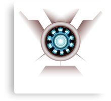 Tony's Arc Reactor Canvas Print