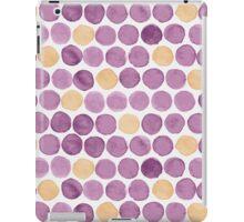 Watercolor Dots iPad Case/Skin