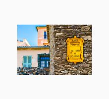 Saint Tropez vintage Post Box and house facades Unisex T-Shirt