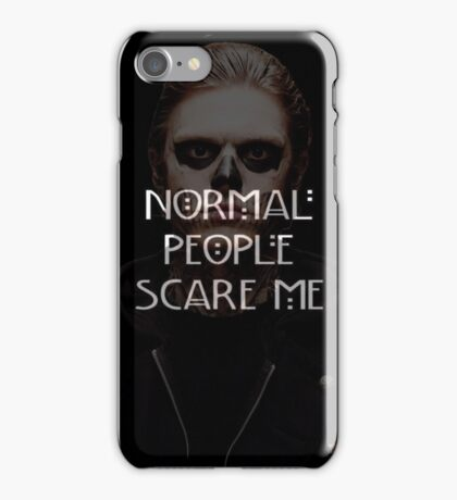 Tate- Normal People Scare Me Phone Case iPhone Case/Skin