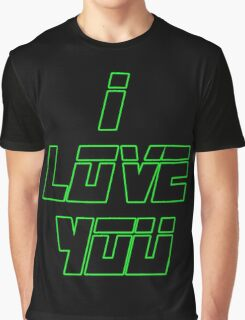 I Love You - METAL GEAR SOLID Graphic T-Shirt
